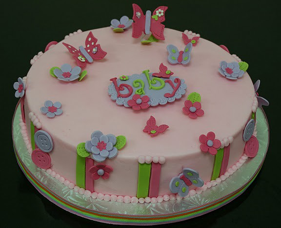 butterfly baby shower themed cake flickr photo sharing