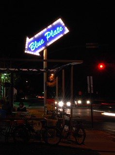 The Blue Plate Diner.