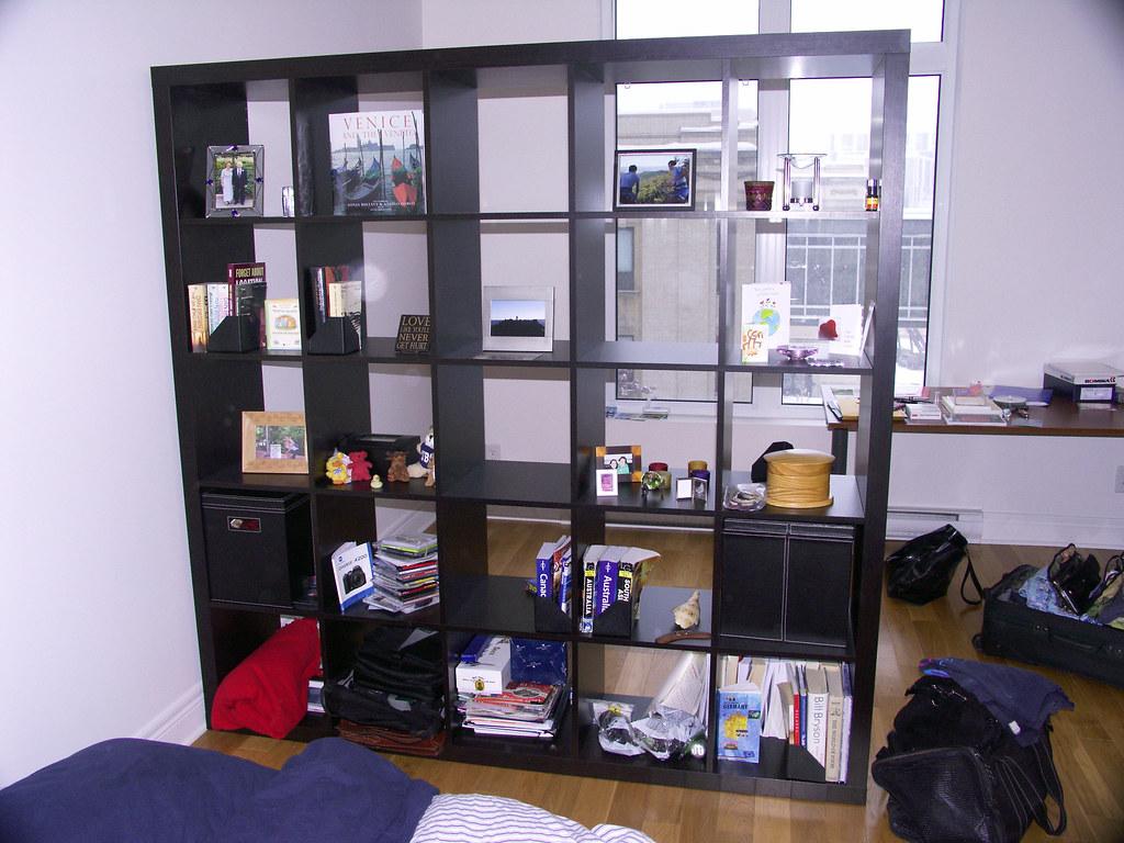 large shelf room divider ikea expedit ikea expedit. Black Bedroom Furniture Sets. Home Design Ideas