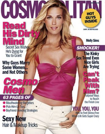 Molly_Sims_Cosmopolitan_Magazine by Biilboard Hot 100