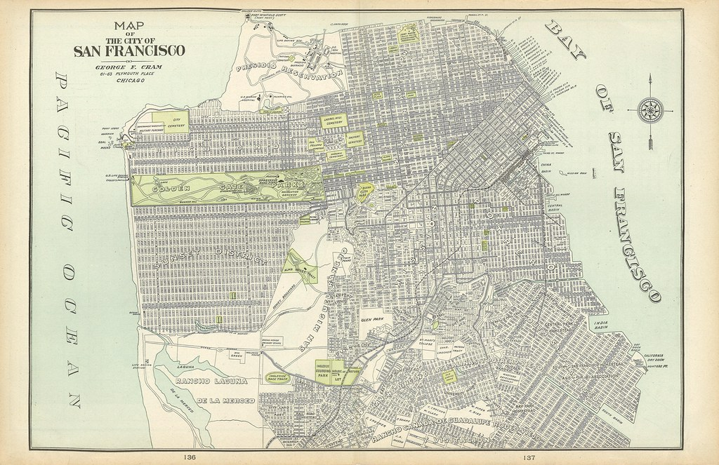 san francisco map 1900 Time Zones Map San Francisco Map 1900