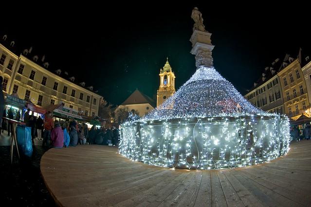 The Christmas Market in Bratislava