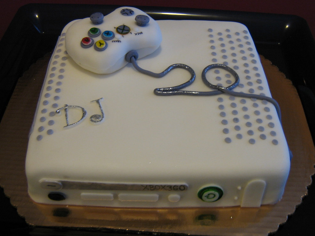 Xbox360 20th Birthday Cake A Photo On Flickriver