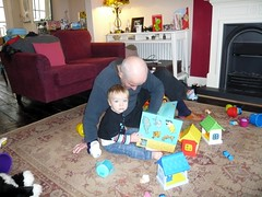 Reading with Grandad