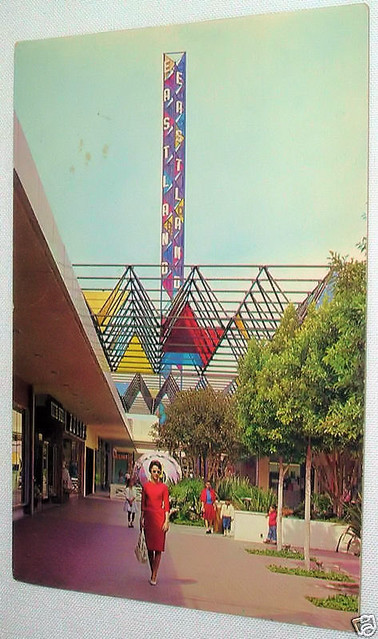 Eastland Center, West Covina, California 1960's