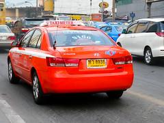 Hyundai Sonata Taxi in Bangkok
