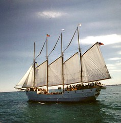 Tallship on Lake Michigan