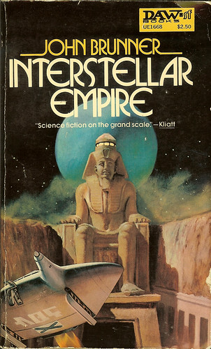 Interstellar Empire - John Brunner - cover artist Segrelles