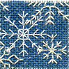 snowflake blackwork needlepoint twinchy