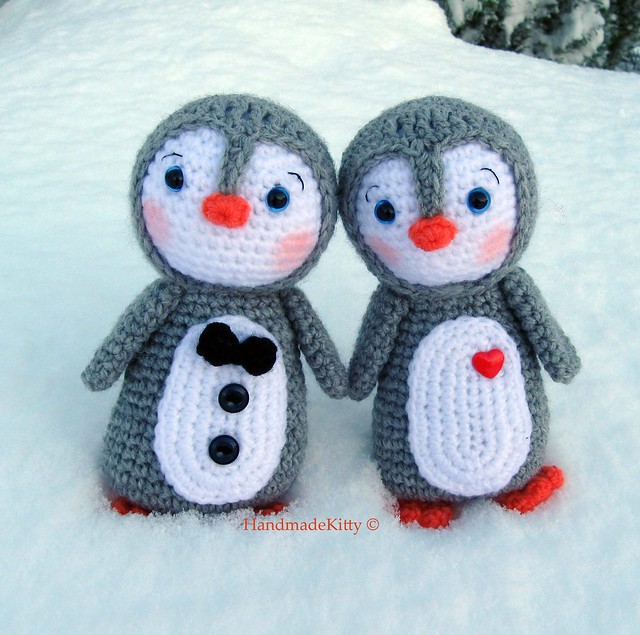 Penguin Plush Animal Sewing Pattern  Kit - Soft Toy Sewing Kits
