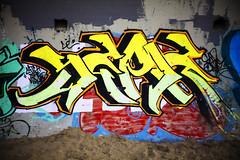 ocean beach graffiti