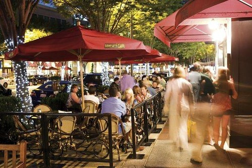 Millennials prefer lively, walkable environments (courtesy of Bethesda Row)