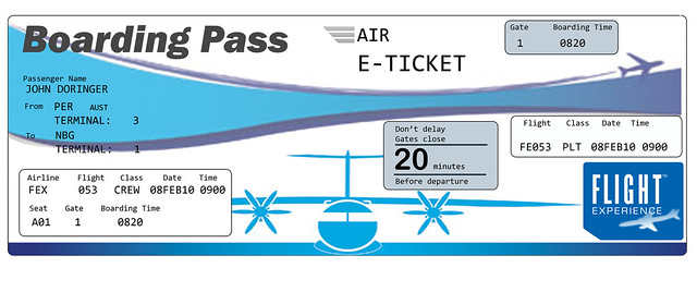 Air Ticket Invitation Front Flickr U2013 Photo Sharing!  Airline Ticket Template Word