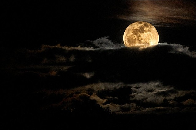 The intriguing moon