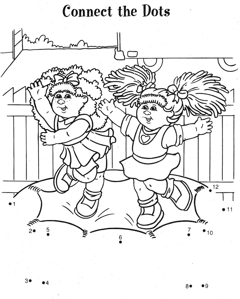 cabbage patch coloring pages - photo#35
