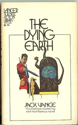 Jack Vance - The Dying Earth - cover artist Ed Emshwiller -  stated 3rd Lancer edition - September 1972