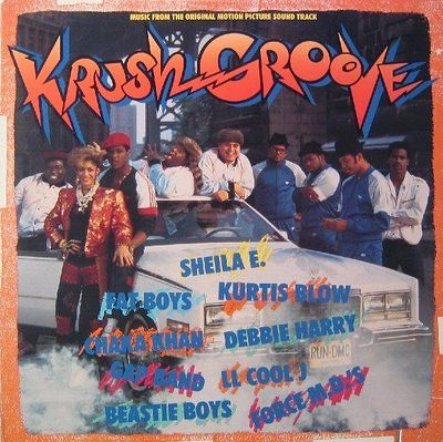 Krush Groove Original Motion Picture Sountrack (1985) - Alternate cover