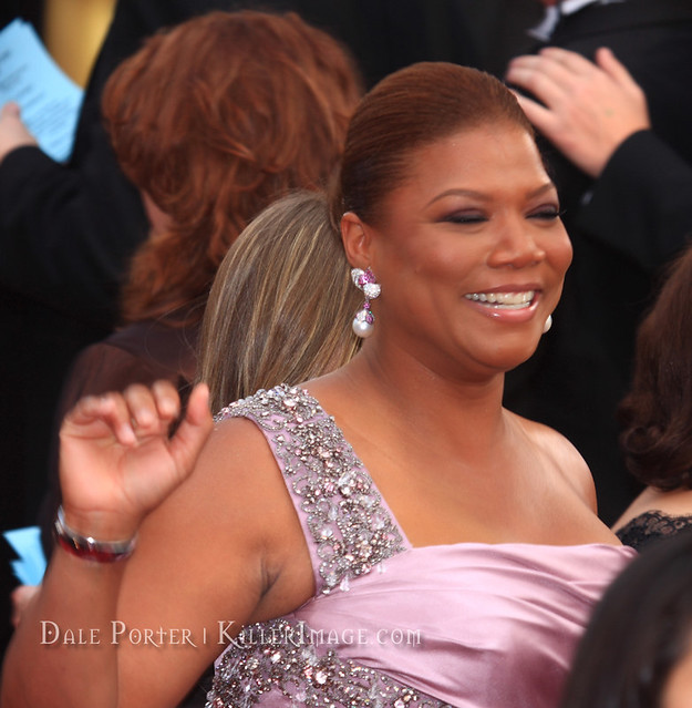 Queen Latifah - Oscars 2010 Red Carpet 8228