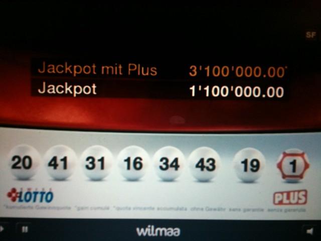 swisslos lottozahlen