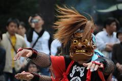 Racial dance in Iwate