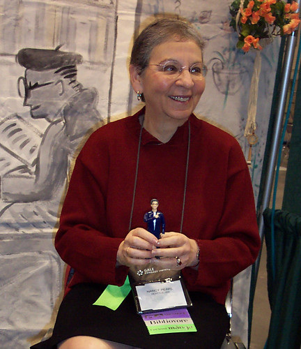 Nancy Pearl & her action figure