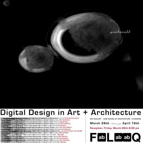 Digital Design in Art + Architecture