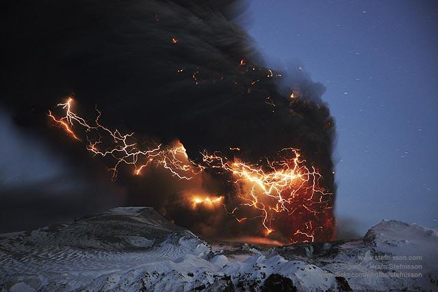 Eyjafjallajokull lightning's shs_n3_045827