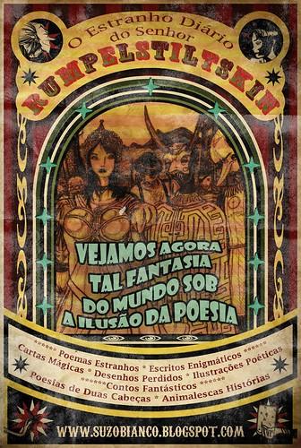Poster do Blog: O Estranho Diário do Senhor Rumpel