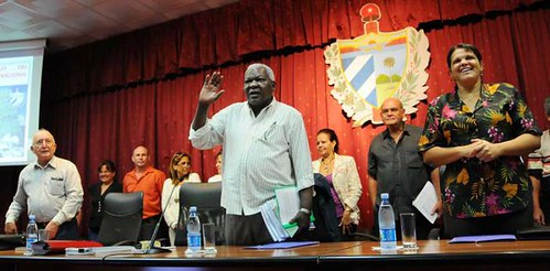 Esteban Lazo Hernandez, President of the National Assembly of Popular Power in Cuba. by Pan-African News Wire File Photos
