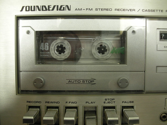 Soundesign tape deck