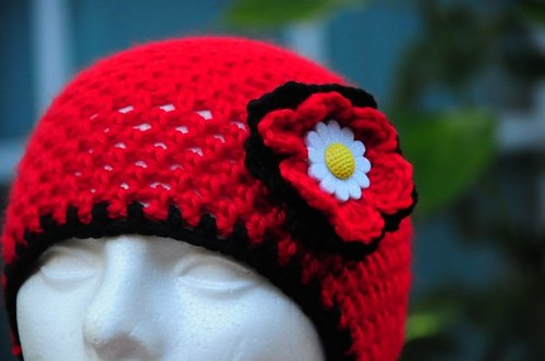 Crochet Skull Capbeanie Mother Daughter Hats Very Easy Flickr