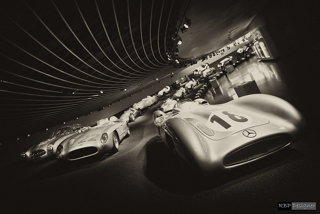 Silver Arrows - Mercedes-Benz Museum