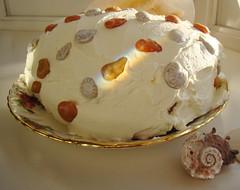 Pumpkin Cranberry Torte