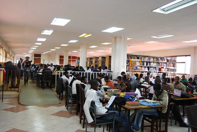 Kenyatta University - full library | Flickr - Photo Sharing!