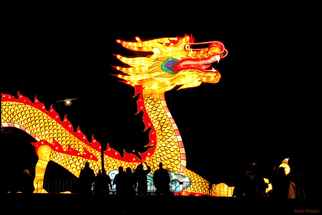 China festival of lights, dragon by Rene Mensen, on Flickr