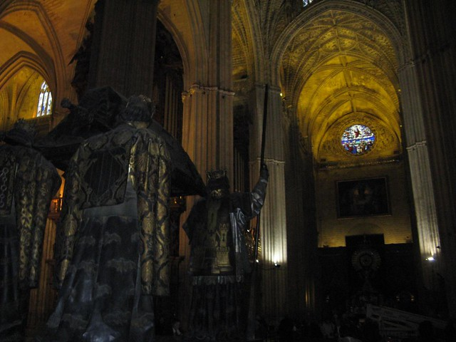 Catedral de Sevilla, Espanha; Dezembro 2009