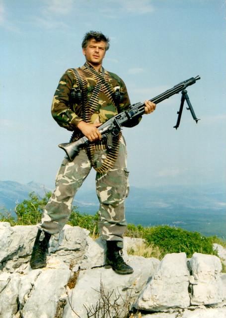 Hrvatski vojnik branitelj Dubrovnika - dubrovački branitelj