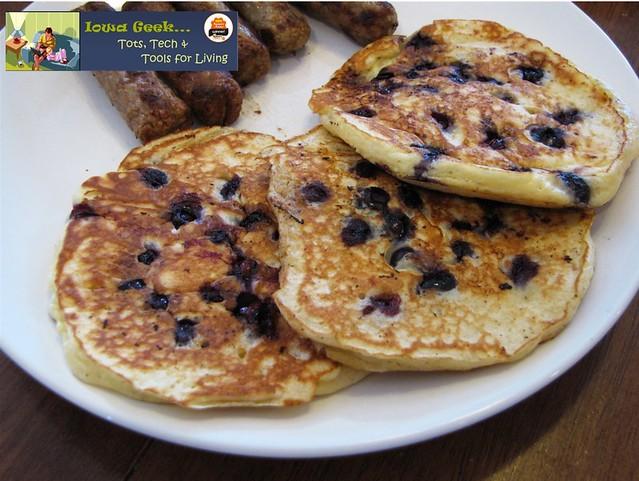 Homemade Blueberry Pancakes | Flickr - Photo Sharing!