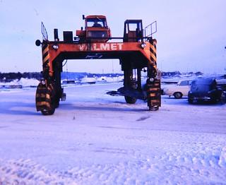 Valmet grensletruck Straddle Truck
