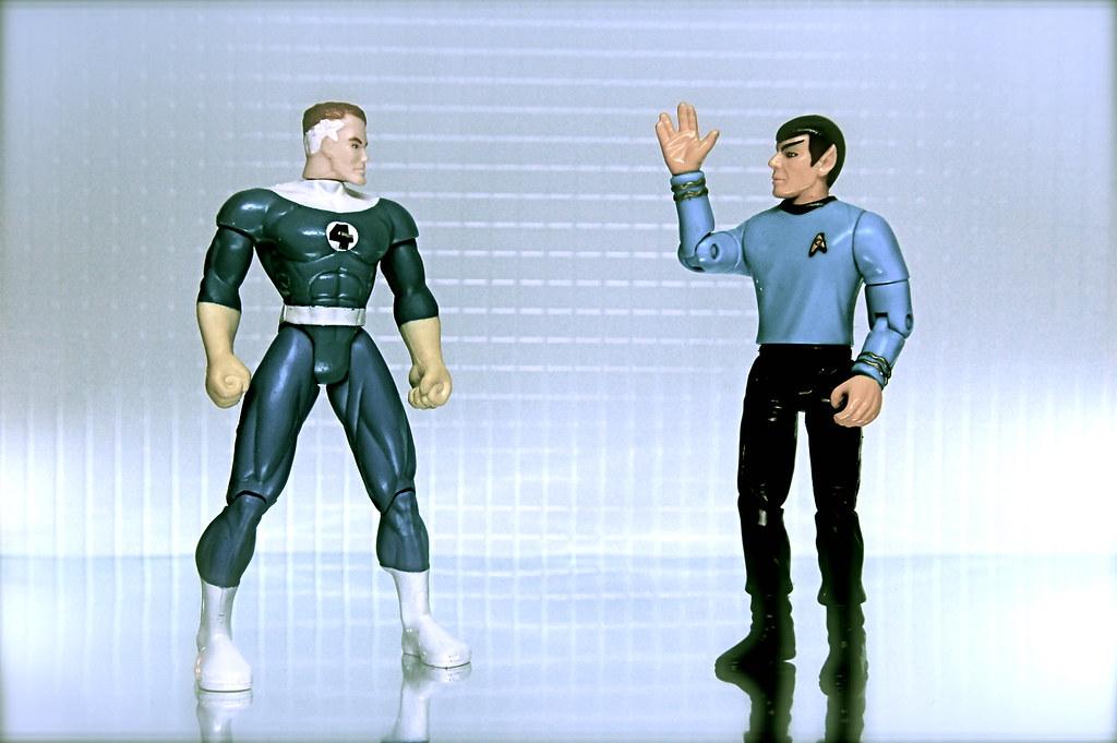 Mr. Fantastic vs. Mr. Spock (46/365)