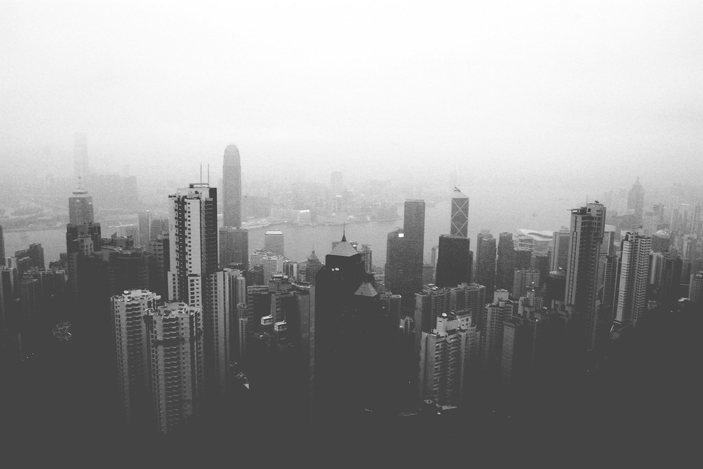 36 - Hong Kong From The Peak