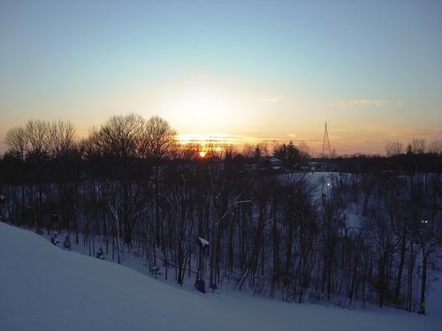sunset snow ski photoshop perfect indianapolis sony north indiana photomerge sunsetting lawrenceburg serge melki slopes s600 downslope dscs600 perfectnorthslopes skiinindiana
