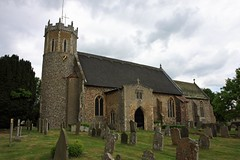 St Edmund's church Acle Norfolk