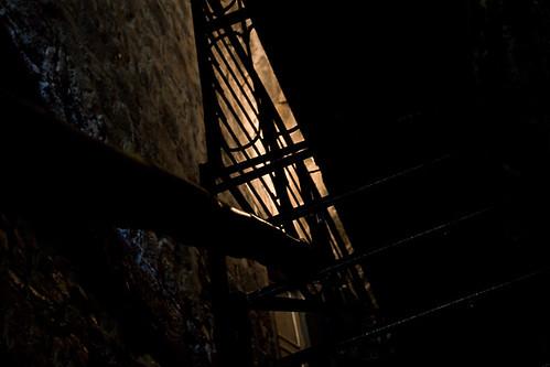 stairs colombia escalera crypt cripta nariño lajas