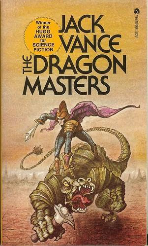 Jack Vance - Dragon Masters - cover artist Josh Kirby - Ace 3rd printing - April 1973