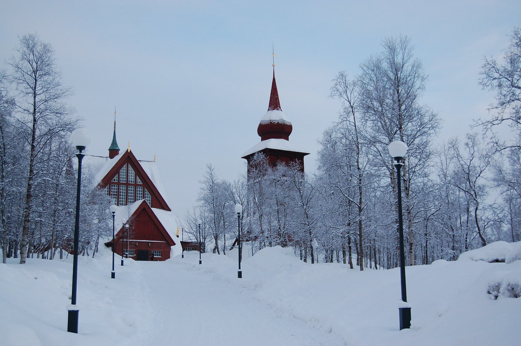 Church, Kiruna, Sweden