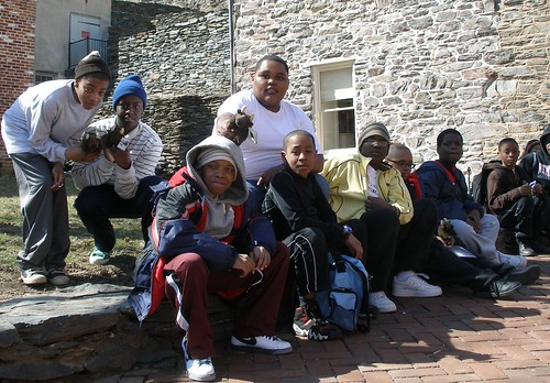 St. Ignatius Harpers Ferry trip outside the African American History Museum