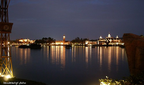 World Showcase at Night