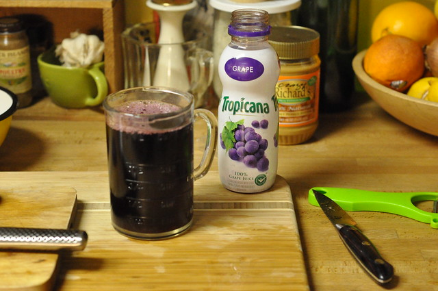 1 1/2 cups grape juice