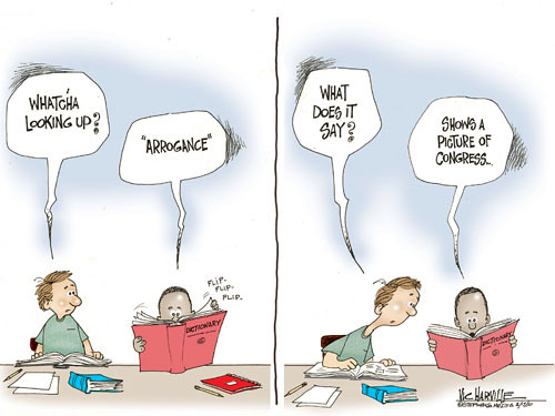 Forthwrite arrogance def